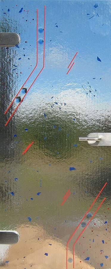 Blickdichte Glastür war perfekt stil für ihr haus design ideen